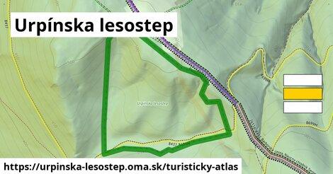 ikona Turistická mapa turisticky-atlas  urpinska-lesostep