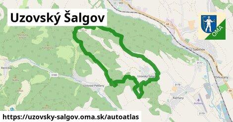 ikona Mapa autoatlas  uzovsky-salgov