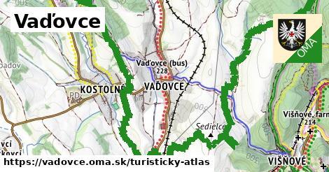 ikona Turistická mapa turisticky-atlas  vadovce