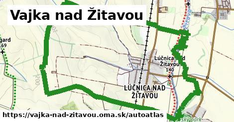 ikona Mapa autoatlas  vajka-nad-zitavou
