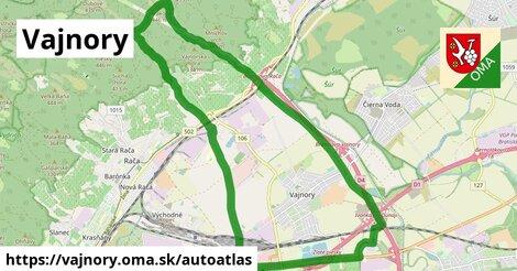 ikona Mapa autoatlas  vajnory