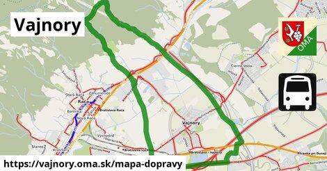 ikona Mapa dopravy mapa-dopravy  vajnory