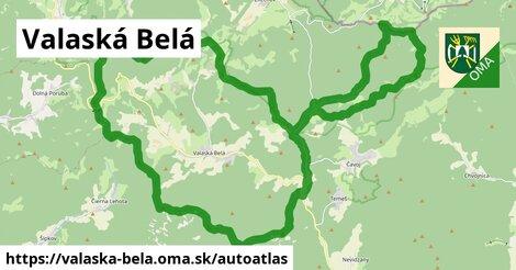 ikona Mapa autoatlas  valaska-bela