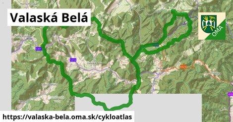 ikona Valaská Belá: 23km trás cykloatlas  valaska-bela