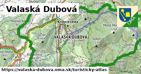 ikona Turistická mapa turisticky-atlas v valaska-dubova