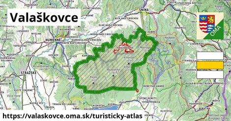 ikona Valaškovce: 29km trás turisticky-atlas  valaskovce