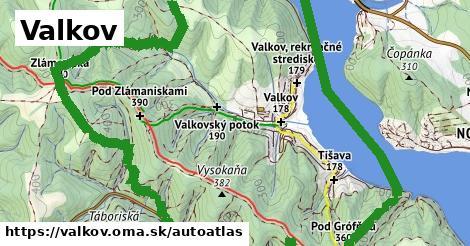ikona Mapa autoatlas  valkov