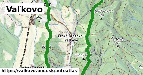 ikona Mapa autoatlas  valkovo