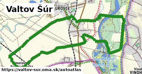 ikona Mapa autoatlas  valtov-sur