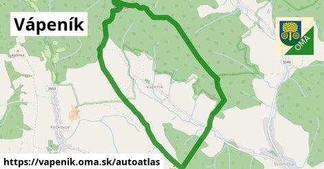 ikona Mapa autoatlas  vapenik