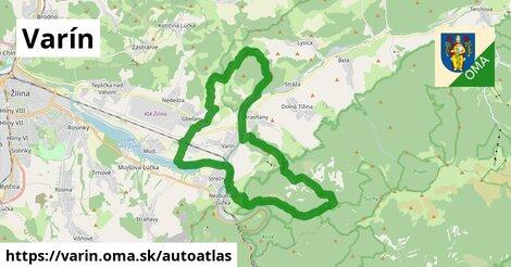 ikona Mapa autoatlas  varin