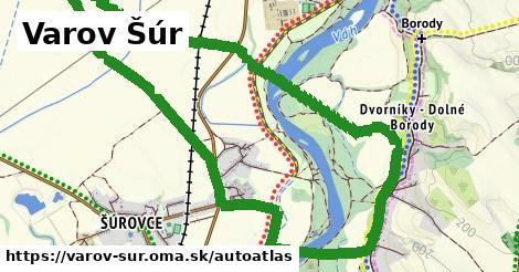 ikona Mapa autoatlas  varov-sur