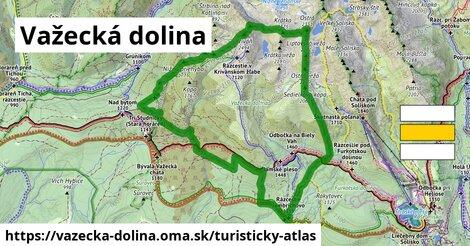ikona Turistická mapa turisticky-atlas  vazecka-dolina