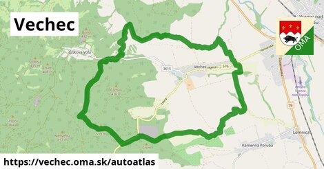 ikona Mapa autoatlas  vechec