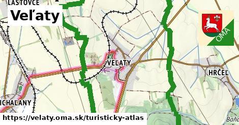 ikona Turistická mapa turisticky-atlas  velaty