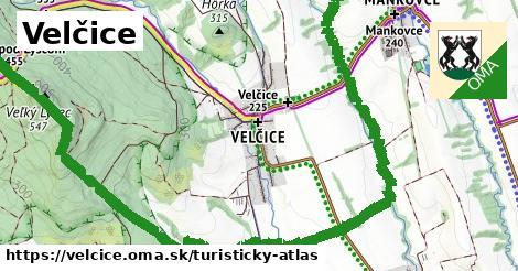 ikona Turistická mapa turisticky-atlas  velcice