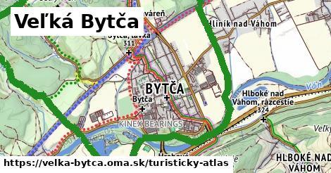 ikona Veľká Bytča: 18km trás turisticky-atlas v velka-bytca
