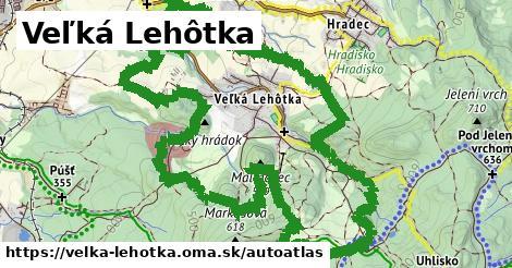 ikona Mapa autoatlas  velka-lehotka