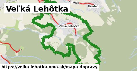 ikona Veľká Lehôtka: 1,83km trás mapa-dopravy  velka-lehotka