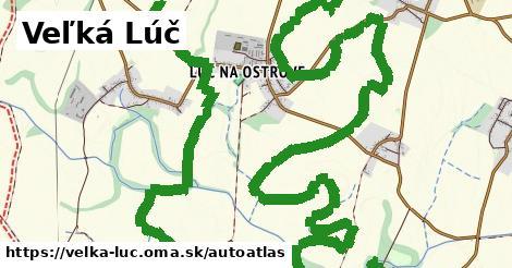 ikona Mapa autoatlas  velka-luc
