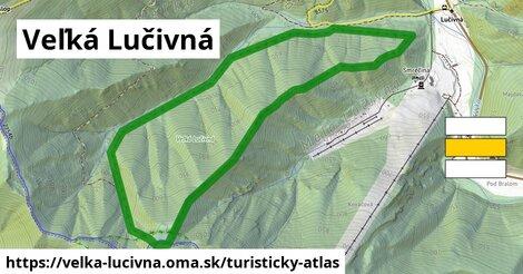 ikona Turistická mapa turisticky-atlas  velka-lucivna