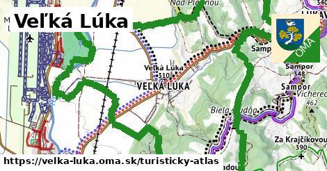 ikona Turistická mapa turisticky-atlas v velka-luka