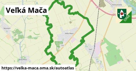 ikona Mapa autoatlas  velka-maca