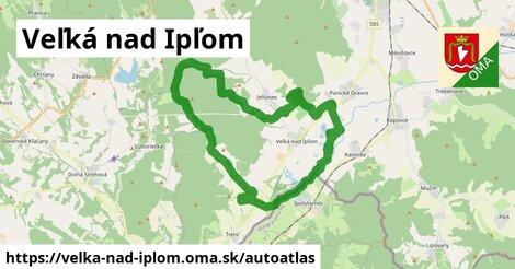 ikona Mapa autoatlas  velka-nad-iplom