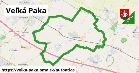 ikona Mapa autoatlas  velka-paka