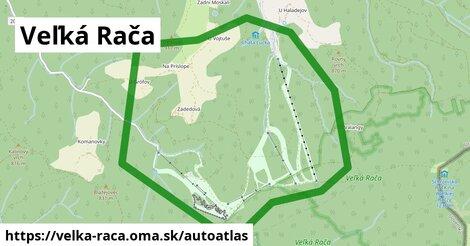 ikona Mapa autoatlas  velka-raca