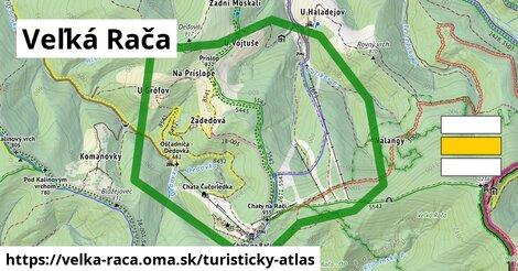 ikona Turistická mapa turisticky-atlas  velka-raca