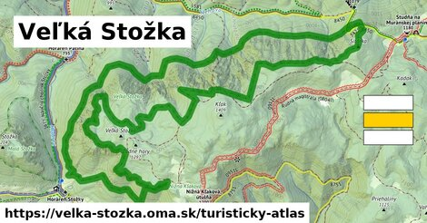 ikona Turistická mapa turisticky-atlas  velka-stozka