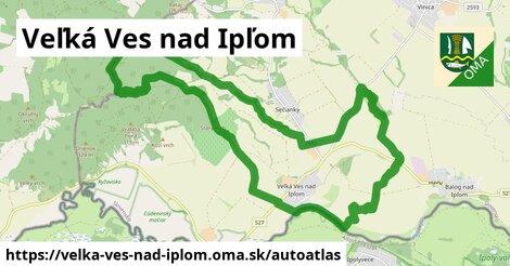 ikona Mapa autoatlas  velka-ves-nad-iplom