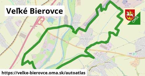 ikona Mapa autoatlas  velke-bierovce