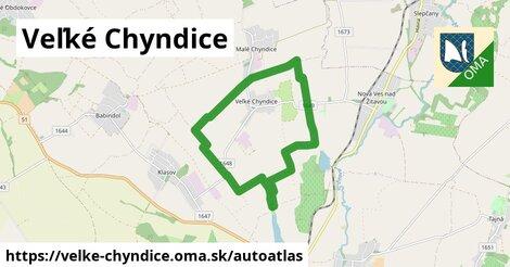ikona Mapa autoatlas  velke-chyndice