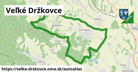 ikona Mapa autoatlas  velke-drzkovce