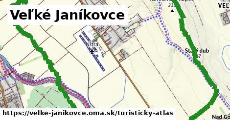 ikona Veľké Janíkovce: 0m trás turisticky-atlas v velke-janikovce