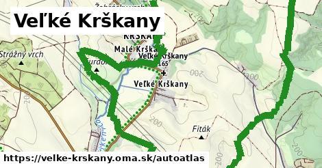ikona Mapa autoatlas  velke-krskany