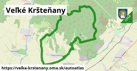 ikona Mapa autoatlas  velke-krstenany