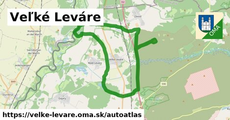 ikona Mapa autoatlas  velke-levare