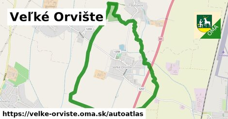 ikona Mapa autoatlas  velke-orviste