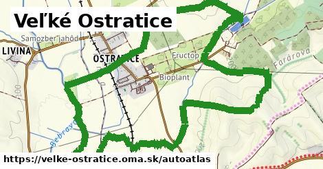 ikona Mapa autoatlas  velke-ostratice