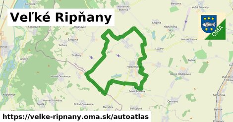 ikona Mapa autoatlas  velke-ripnany