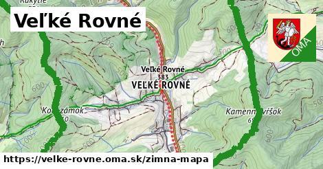 ikona Veľké Rovné: 10,8km trás zimna-mapa  velke-rovne