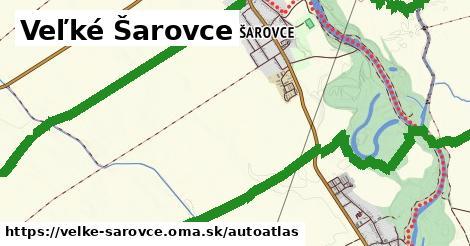 ikona Mapa autoatlas  velke-sarovce