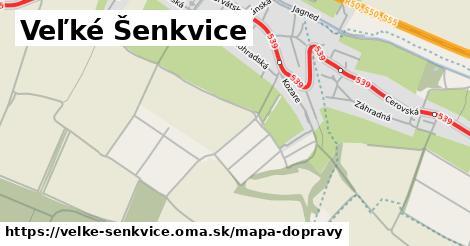 ikona Veľké Šenkvice: 61km trás mapa-dopravy  velke-senkvice