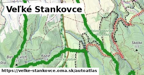 ikona Mapa autoatlas  velke-stankovce