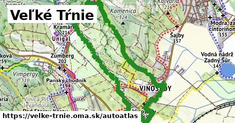 ikona Mapa autoatlas  velke-trnie