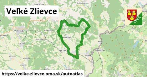 ikona Mapa autoatlas  velke-zlievce