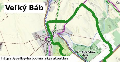 ikona Mapa autoatlas  velky-bab
